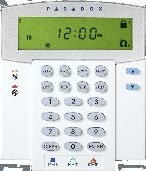 paradox alarm manual 1686v